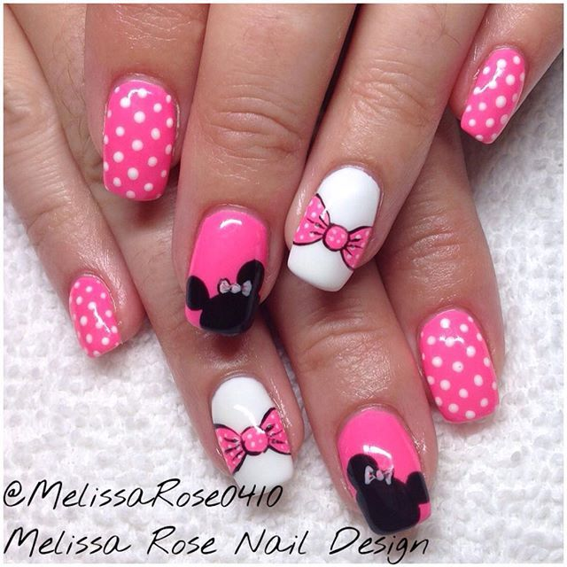 Disney Nail Art: Goodmorning Everybody